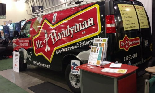 Mr. Handyman van